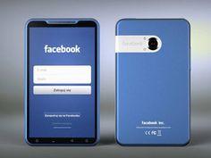 Ilustração do designer Michal Bonikowski mostra como poderia ser o smartphone do Facebook.