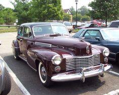 1941 Cadillac model 60S Fleetwood Sedan. Full Classic.