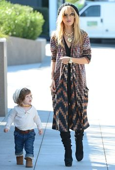 Rachel Zoe - Rachel Zoe and Skyler Out and About in Hollywood