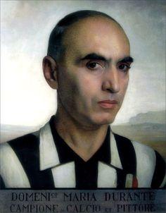 Domenico Maria Durante · Self Portrait with Juventus Shirt · 1926 · Palazzo Granieri della Roccia · Torino