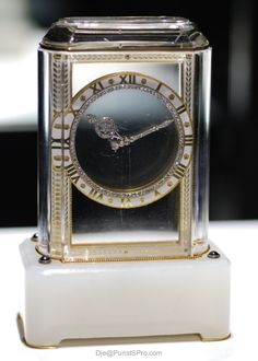 The Mystery Clock by Cartier