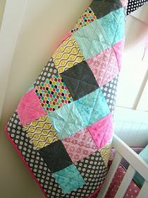 Beginner quilting.  This blogger leads you to a good tutorial