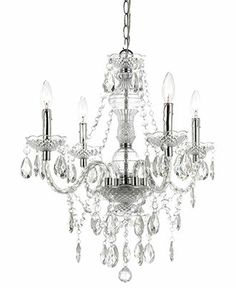 Elements Chandelier, 4-Light Mini - Lighting & Lamps - for the home - Macy's
