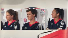This is TeamGB's tennis team. They will be heading for Rio 2016