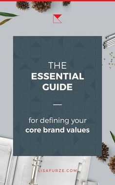 Defining your core brand values is a crucial part of establishing your brands foundation. Read this guide to find tips and ideas for how to develop brand values that help your business to stand out. Social Media Branding, Branding Your Business, Personal Branding, Creative Business, Business Tips, Build Your Brand, Creating A Brand, Corporate Design, Branding Template