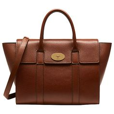 Buy Mulberry Bayswater Strap Small Classic Grain Bag Online at johnlewis.com
