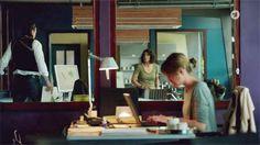 Filmbilder von 'TATORT' Ludwigshafen – 'LU' – Szenenbild Klaus R. Weinrich – Kamera Jürgen Carle – Regie Jobst Christian Oetzmann