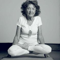 Tao Porchon-Lynch: Aging Advice From 96-Year-Old Yoga Instructor