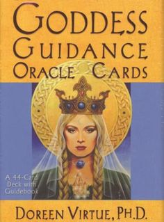 Goddess Guidance Oracle Cards : A 44-Card Deck and Guidebook - Doreen Virtue
