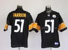 http://www.xjersey.com/pittsburgh-steelers-51-james-farrior-black-jerseys.html Only$34.00 PITTSBURGH STEELERS 51 JAMES FARRIOR BLACK JERSEYS Free Shipping!