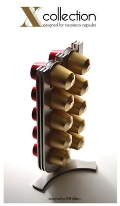 Nespresso Coffee Pod Capsule Holder Stand by CoffeeChocolateHouse, $39.00