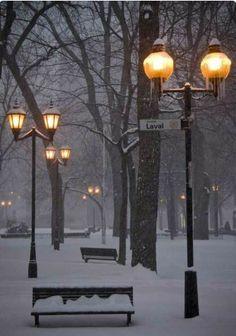 Winter eve