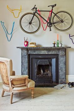 Trendy Bike Rack - Hipster Style Home Ideas – Retro Interior Ideas (houseandgarden.co.uk)