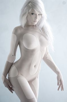Cyborg by Ashleykursey.deviantart.com, cyborg, future, female bot, android girl, futuristic