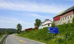 Fylkesgrensa mellom Sør-Trøndelag og Møre og Romsdal ved Storholt