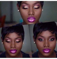 8 Eyeshadow Ideas For Black Women   Eyeshadow ideas, Gold ...