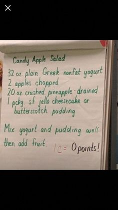 Diet fruit salad weight watchers 64 Ideas for 2019 Weight Watchers Smart Points, Weight Watchers Desserts, Skinny Recipes, Ww Recipes, Recipies, Cookbook Recipes, Fruit Recipes, Apple Recipes, Salad Recipes
