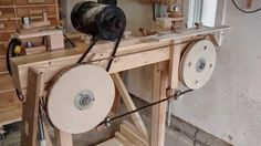 Homemade bandsaw mill