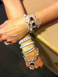 Judith Ripka bracelets