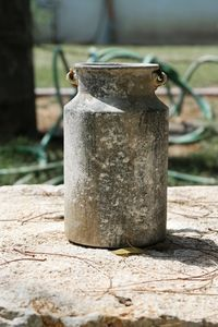 Old Metal Milk Cans