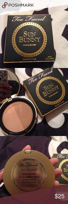 Too faced sunny bunny bronzer New in box never used too faced sunny bunny bronzer Too Faced Makeup Bronzer