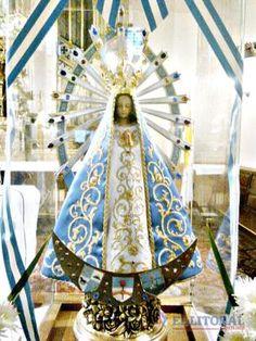 El catolicismo rinde honores hoy a la patrona del país, la Virgen de Luján