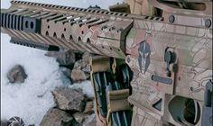 $250 to start...MCM Firearms Cerakote Kryptek