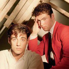 Andrew Ridgeley :: George Michael :: Wham!