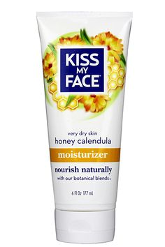 Kiss My Face Honey Calendula Moisturizer. This has the most beautiful fragrance. Love many of Kiss my Face lotions and potions :)