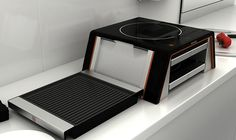 The Compact Kitchen of the Future: Who Needs A Built-in Stove ...