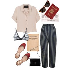 40 by marybordelon on Polyvore featuring Rachel Comey, Topshop, Anine Bing, Valentino, Givenchy, Passport and Tom Ford