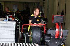 Pirelli tyre technician
