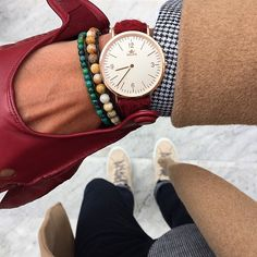 Camel coat x burgundy driving gloves and matching @birlinewatches by @louisnicolasdarbon. Featured watch ⌚: Oxshott in Rose Gold at Birline.com.  #birline #harristweed #tweed #red #green #nude #menwithclass #mensfasion #mensstyle #menswear #suitup #gq #dapper #preppy #bespoke #timepiece #watches #sartorial #mensfashionreview #classy #gentleman #britishvoque #british #london  Birline watch strap made with the highest quality Harris Tweed available at www.birline.com