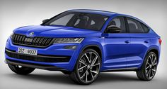 Skoda's New Kodiaq Coupe Will Probably Look Something Like This