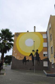 Street Art, Arte Urbana, Graffiti, O Bairro i o Mundo, Quinta do Mocho, Sacavém, Loures, Portugal, Slap.