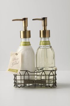 Pure & Good Hand Duo - Anthropologie.com $34  We would need 6 of these. =204 for first time buy but we could refill with cheap bulk refills in the future