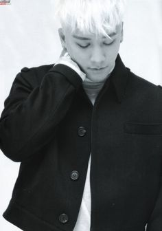 #Seungri #Seunghyun #maknae #BIGBANG #photoshoot #blackandwhite