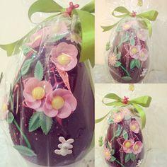 #uovodipasqua #artigianale #fattoincasa #homemade #buonapasqua #2017 #beautiful #chocolate #delicious