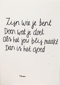 Words Quotes, Me Quotes, Funny Quotes, Sayings, More Than Words, Some Words, Dutch Quotes, Magic Words, Verse