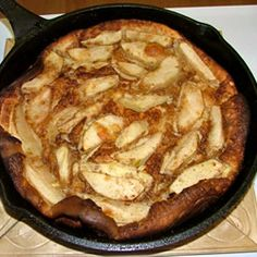 I love making this for special mornings. It is apple pie meets pancakes meets French toast. And it is easy!
