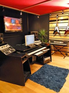 From Mix-and-Match Music Room to High-End Recording Studio : Home_improvement : DIY