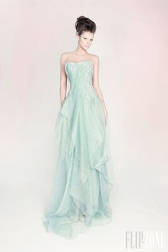 RAMI KADI COUTURE SPRING-SUMMER 2013. Would wear this to an outdoor, Paris themed dinner party.