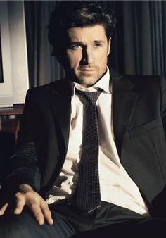 suit. tie. good lookin guy. - Patrick Dempsey