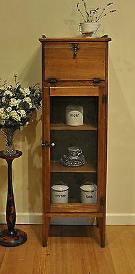Rustic Antique Victorian Tasmanian Oak Meat Safe / Cabinet / Pantry /Cupboard