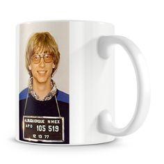 Bill Gates Mug Shot Mug - Only £8!!
