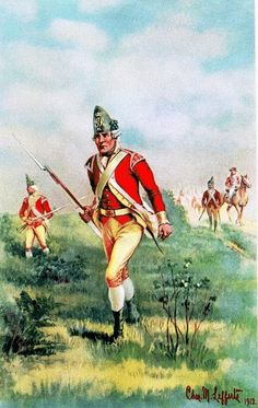 Light Infantry Company, Fortieth Regiment of Foot, 1776