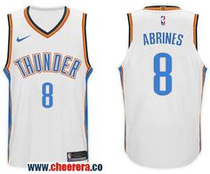 a713d56b074 Men s Nike NBA Oklahoma City Thunder  8 Alex Abrines Jersey 2017-18 New  Season