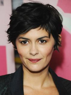 Audrey Tautou Photos Photos - Audrey Tautou presents 'Therese Desqueyroux' as part of Rendezvous with French cinema at Curzon Soho on April 2013 in London, England. - Audrey Tautou Presents 'Therese Desqueyroux' Short Textured Haircuts, Stylish Short Haircuts, Short Pixie Haircuts, Shaggy Pixie Cuts, Textured Hairstyles, Summer Haircuts, Curly Pixie Hairstyles, Shaggy Haircuts, Frontal Hairstyles