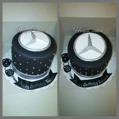 Mercedes Logo cake