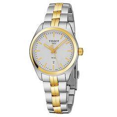 55b35bad5b7 660-095 - Tissot Women s PR100 Swiss Made Quartz Stainless Steel Bracelet  Watch Stainless Steel